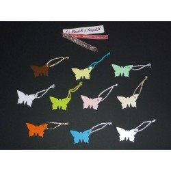 Lot Etiquettes Papillon (x6)