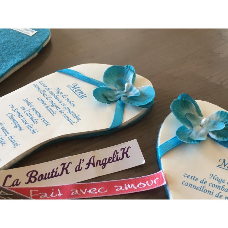 Faire-Part Piano Argent et Blanc