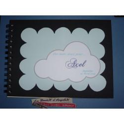 Faire-Part Passeport Blanc et Turquoise