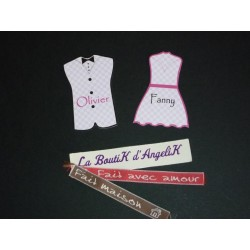 Marque-Place Costume (x5)