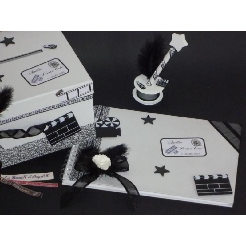 Menu Passeport Blanc Turquoise