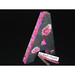 Porte-Nom fil alu vert
