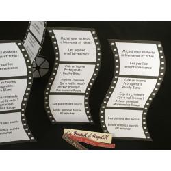 Menu Orchidée blanc