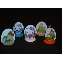 Marque-Place sur Pied Hello Kitty et Peter Pan